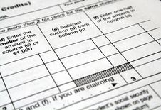 Free Tax Forms Stock Photo - 4307310