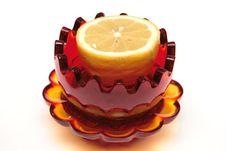 Free Lemon In The Glass Souvenir Stock Images - 4307884