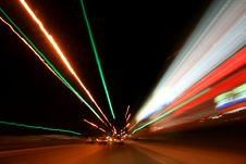 Free Speed Of Light Royalty Free Stock Photos - 4308108