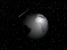 Free Vector Globe Royalty Free Stock Images - 4308349