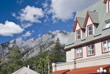 Cottage In Banff Natural Park Stock Images