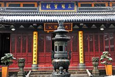 Free Chinese Buddhist Shrine Royalty Free Stock Photography - 4309317