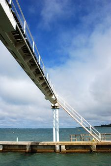 Free Channel Bridge Royalty Free Stock Image - 4309756
