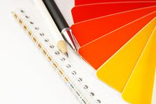 Free The Color Card. Royalty Free Stock Photo - 4309965