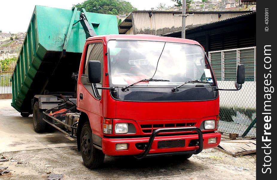 Contruction lorry