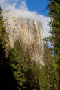 Free El Capitan In Fog, Yosemite Valley Stock Photography - 4310132