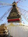 Free Swayambhunath Stock Image - 4311911