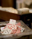 Free Antiques Playing Cards Stock Images - 4312484