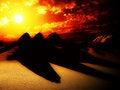 Free Sand Dunes With Sun 3 Stock Photos - 4315223