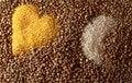 Free Buckwheat Groats Royalty Free Stock Photography - 4318927