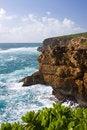 Free Cliffs On Kauai Coast Stock Images - 4319544