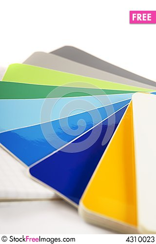 Free The Color Card. Stock Photos - 4310023