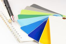 Free The Color Card. Stock Photography - 4310002