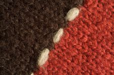 Free Two Halves Of Woolen Cloth Royalty Free Stock Photo - 4310005
