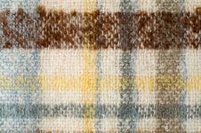 Free Stripy Woolen Cloth Stock Image - 4310031