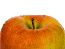 Free Apple And Water Drops Stock Photo - 4310230