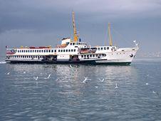 Istanbul Ferryboat Stock Photo