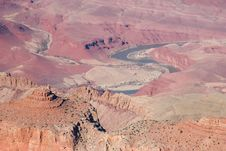 View Of The Grand Canyon Stock Images