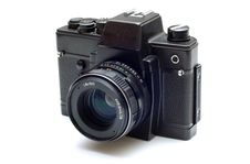 Free Soviet SLR Film Camera Stock Image - 4310441