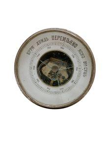 Free Old Vintage Russian Broken Barometer Stock Image - 4310511