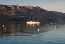 Free Lake Tahoe At Sunset Stock Photography - 4310592