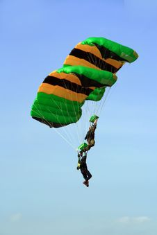 Free Sky Divers 1 Stock Image - 4310701