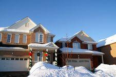 Free House On Winter Royalty Free Stock Photos - 4310798