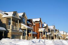 Free House On Winter Royalty Free Stock Images - 4310809