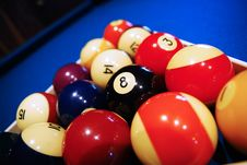 Free Eight Ball, Pool Balls. Stock Photos - 4311433