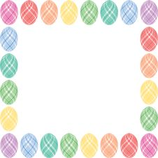 Free Easter Eggs Border Stock Photos - 4311963
