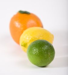 Free Lime, Orange, Lemon Royalty Free Stock Photo - 4312095