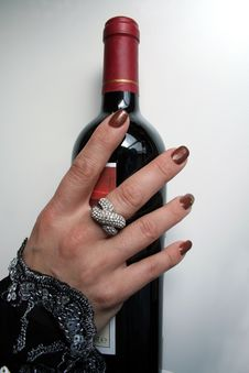 Free Wine Night Stock Image - 4312941