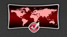 Free World Map Stock Photo - 4313170