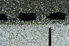 Free Asphalt Roofing Starter Shingle Background Royalty Free Stock Photos - 4313348