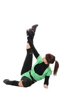 Free Sport  Girl Stock Photo - 4313670