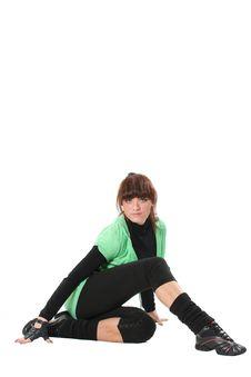Free Stretching Royalty Free Stock Image - 4313686