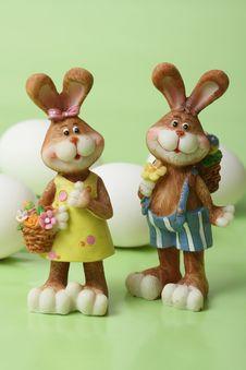 Free Easter Bunnies Stock Photos - 4313923