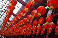 Free Streets - Chinese Lanterns Royalty Free Stock Photos - 4314198