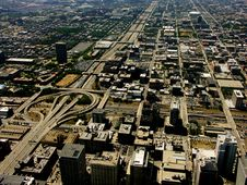Free Freeway From Above Royalty Free Stock Photos - 4314218