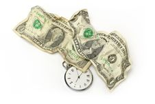 Free Money And Time Stock Photography - 4315232