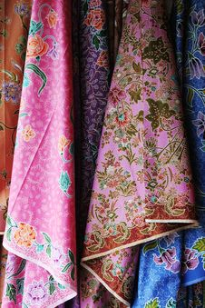 Colorful Sarees Royalty Free Stock Images