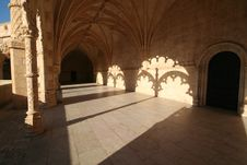Free Atrium At Geronimos Monastery Stock Images - 4315544