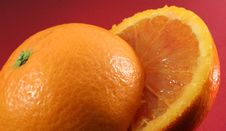 Free Red Orange Stock Image - 4315991