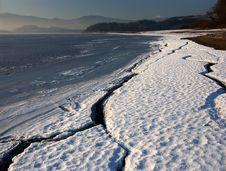 Free Winter Ice Baeach Stock Photo - 4316760