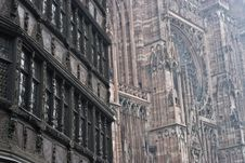 Strasbourg Architecture Royalty Free Stock Images