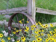 Corner Fence Stock Photography