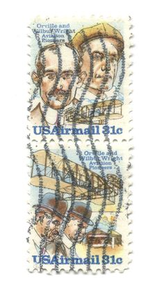 Free Old Postage Stamps From USA Royalty Free Stock Photography - 4317327