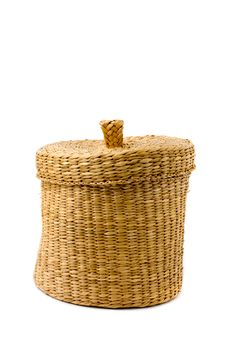Free Woven Basket Royalty Free Stock Image - 4317346