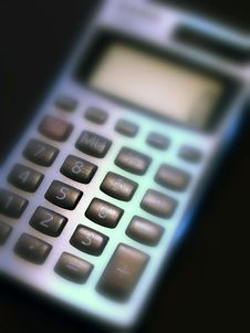 Free Calculator Stock Photography - 4317952