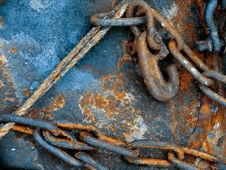 Free Old Chain Royalty Free Stock Image - 4318696